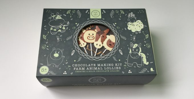 Chocolate Making Kit Cartons printed at here Kingfisher Press Ltd