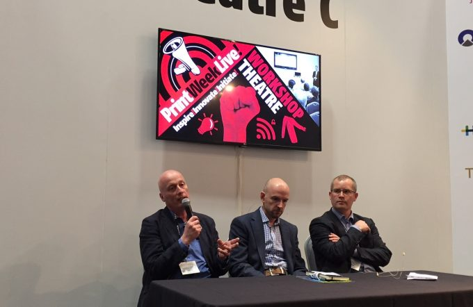 Jetpress Forum with FujiFilm at Print Week Live