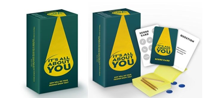 Its all about you !!! Game printed by Kingfisher Press.