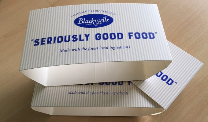 Seriously Good Pie Sleeves printed at Kingfisher Press