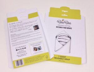 Reduce plastic wasste with beebee wraps - carton printer suffolk
