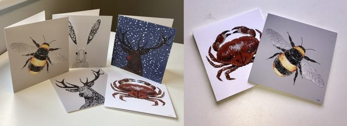 Cards for all Occasions from Art by Frithy
