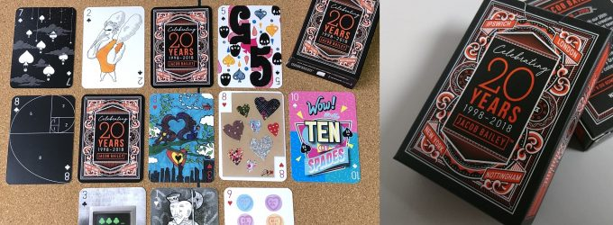 Playing Card Box and Cards – Digital Print