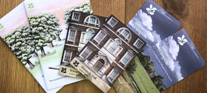 Guide Books for National Trust Wimpole Estate