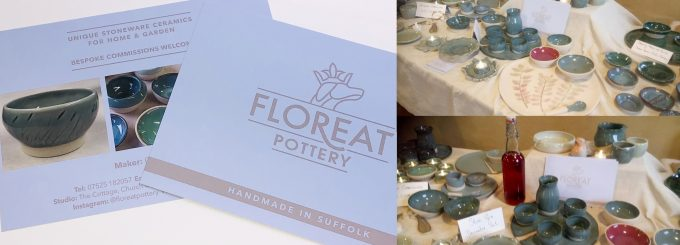 Made in Suffolk Bespoke Pottery Postcards