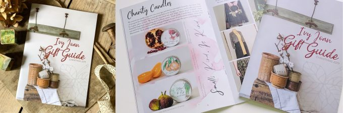 Delightful Christmas Gift Catalogue for Ivy Joan