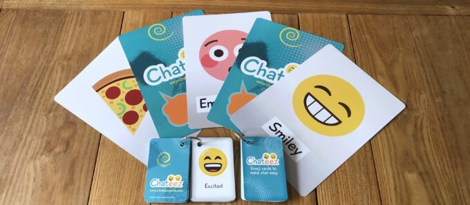 Durable Printed Flash Cards – Emoji Style