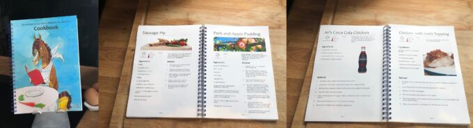 Homestyle Wiro-Bound Cookery Book
