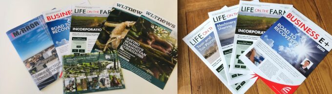Sustainable Print – Newsletters, Journals and Magazines